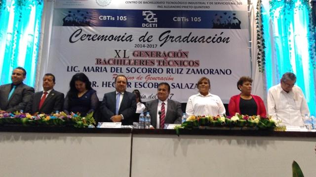 GRADUACION ALTAMIRA CBTIS 105 GENERACION 2014-2017
